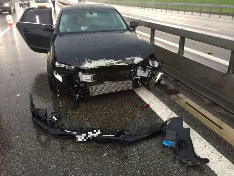 Accident A12 Vaulruz