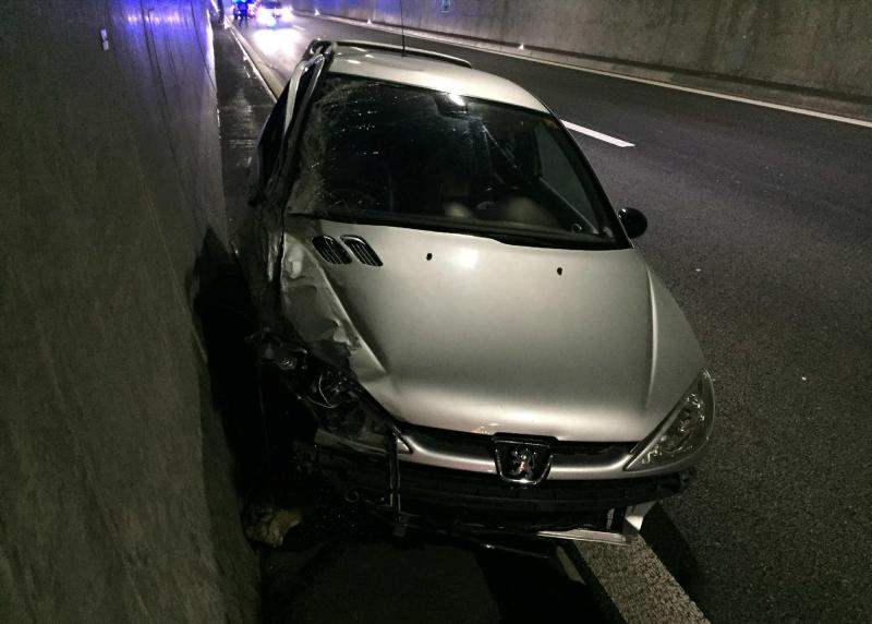 Accident A1 Tunnel des Vignes