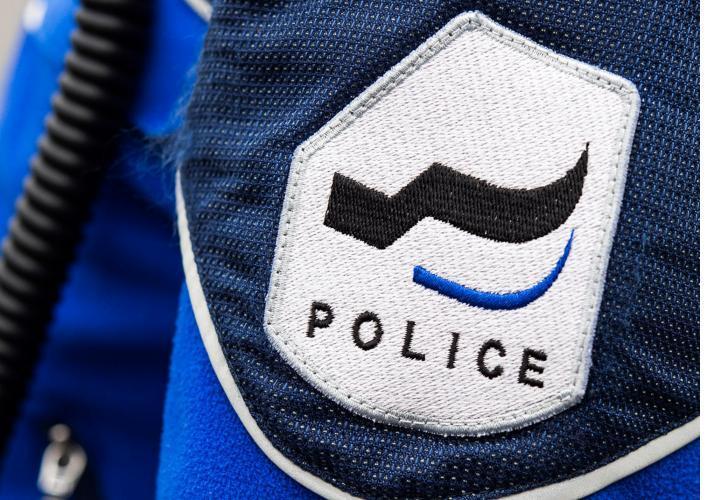 badge de la police