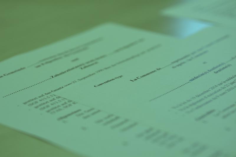 Mustervereinbarung und Musterreglement des Schulzahnpflegedienstes