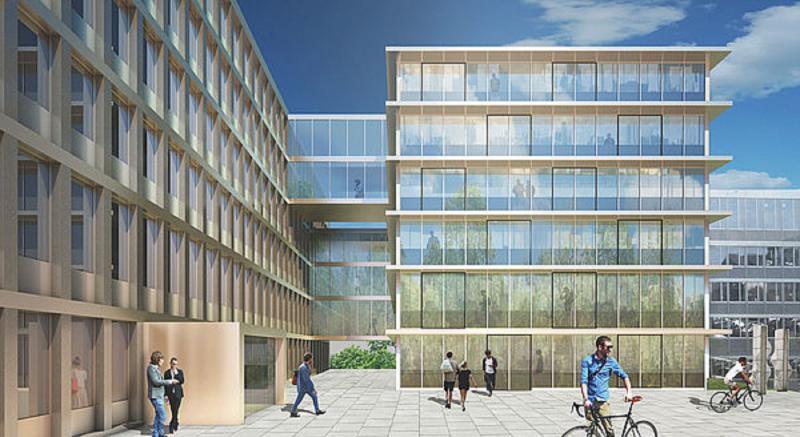 Künftiges Gebäude der kantonalen Sozialversicherungsanstalt KSVA