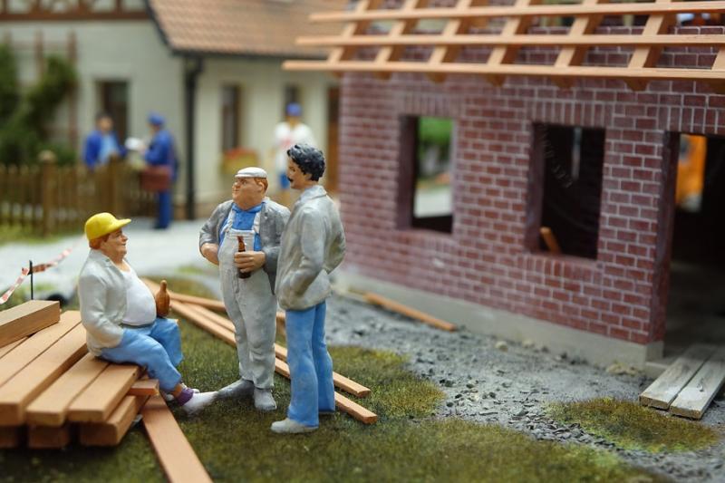 Gebäude und Kredite
