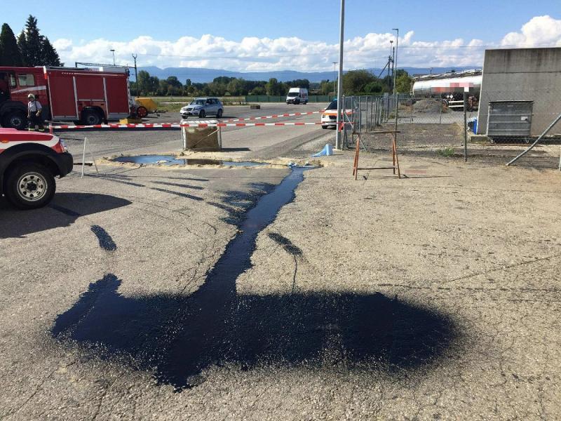 Pollution des canalisations à Domdidier