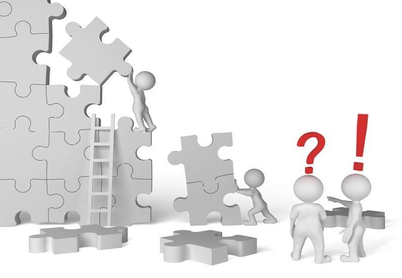 Puzzle en construction
