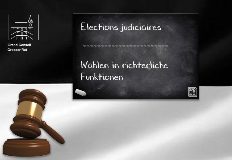 Elections Judiciaires | Wahlen in richterliche Funktionen