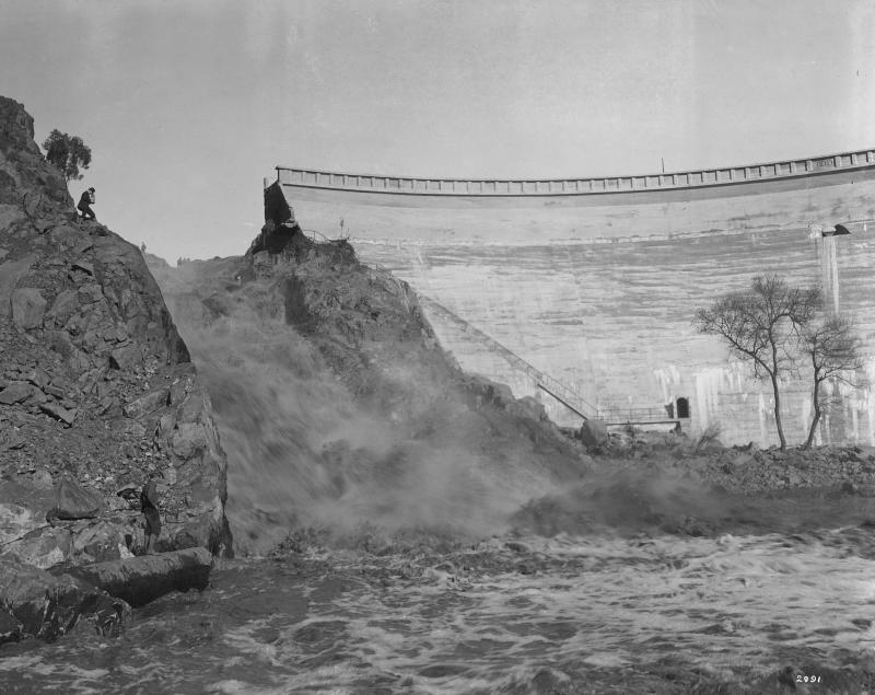 Dammbruch von San Diego, 1916