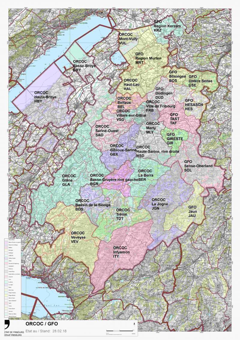 Organes communaux de conduite Fribourg