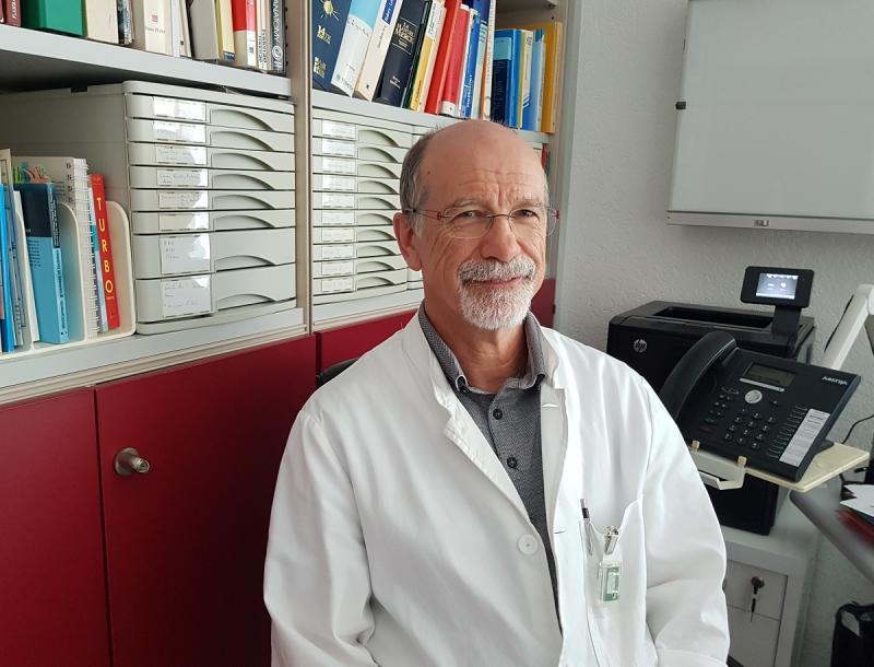 Dr André Schaub - Médecin répondant du home du Gibloux et Médecin généraliste à Posieux