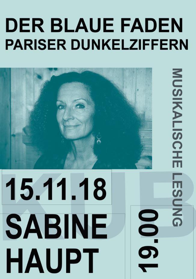 Sabine Haupt - musikalische Lesung
