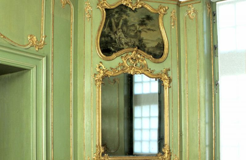Inconnu (fribourgeois ?), Cabinet vert, vers 1760