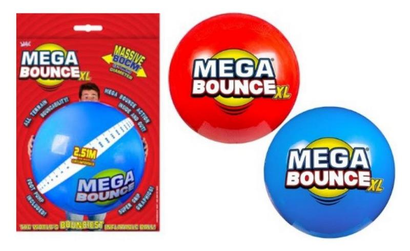 Photo de la balle géante Mega Bounce XL