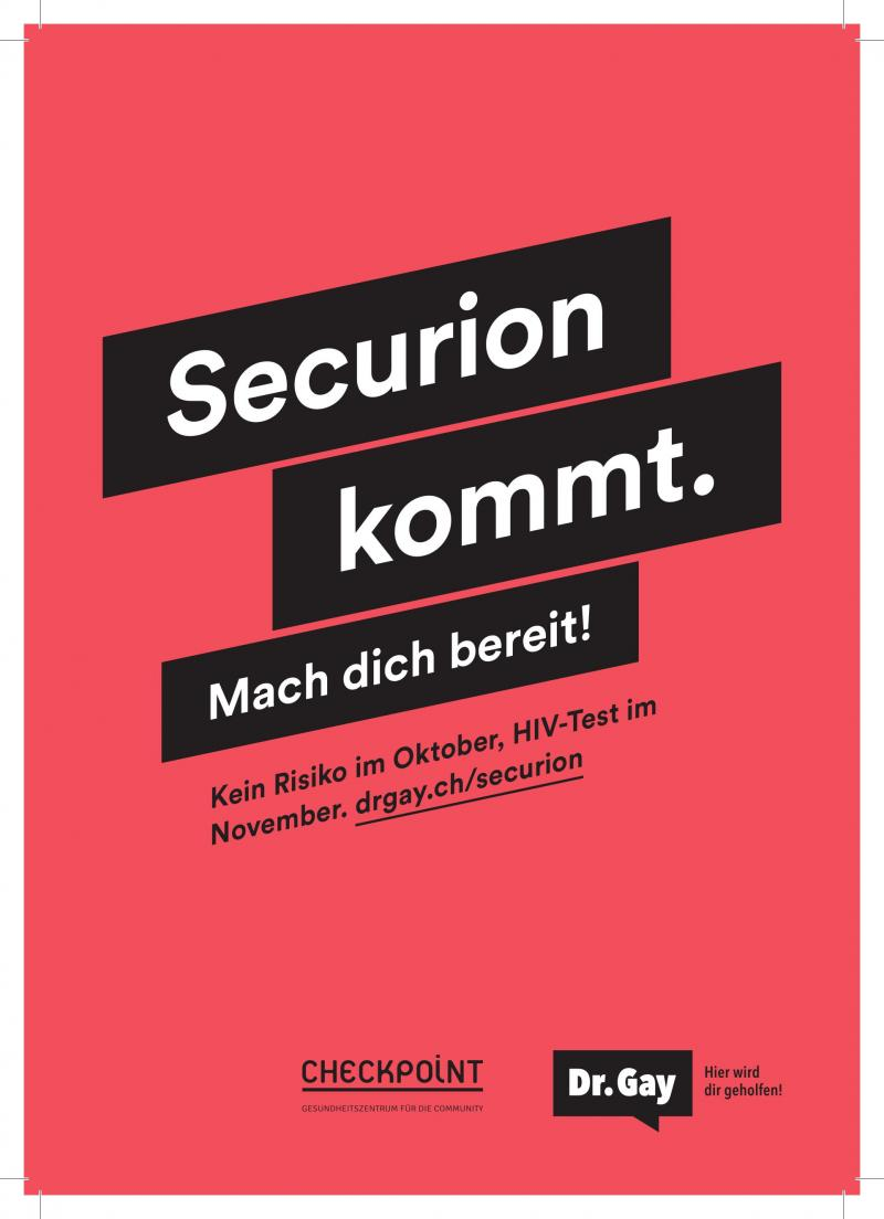 Securion - HIV-Tests - www.drgay.ch/de/securion