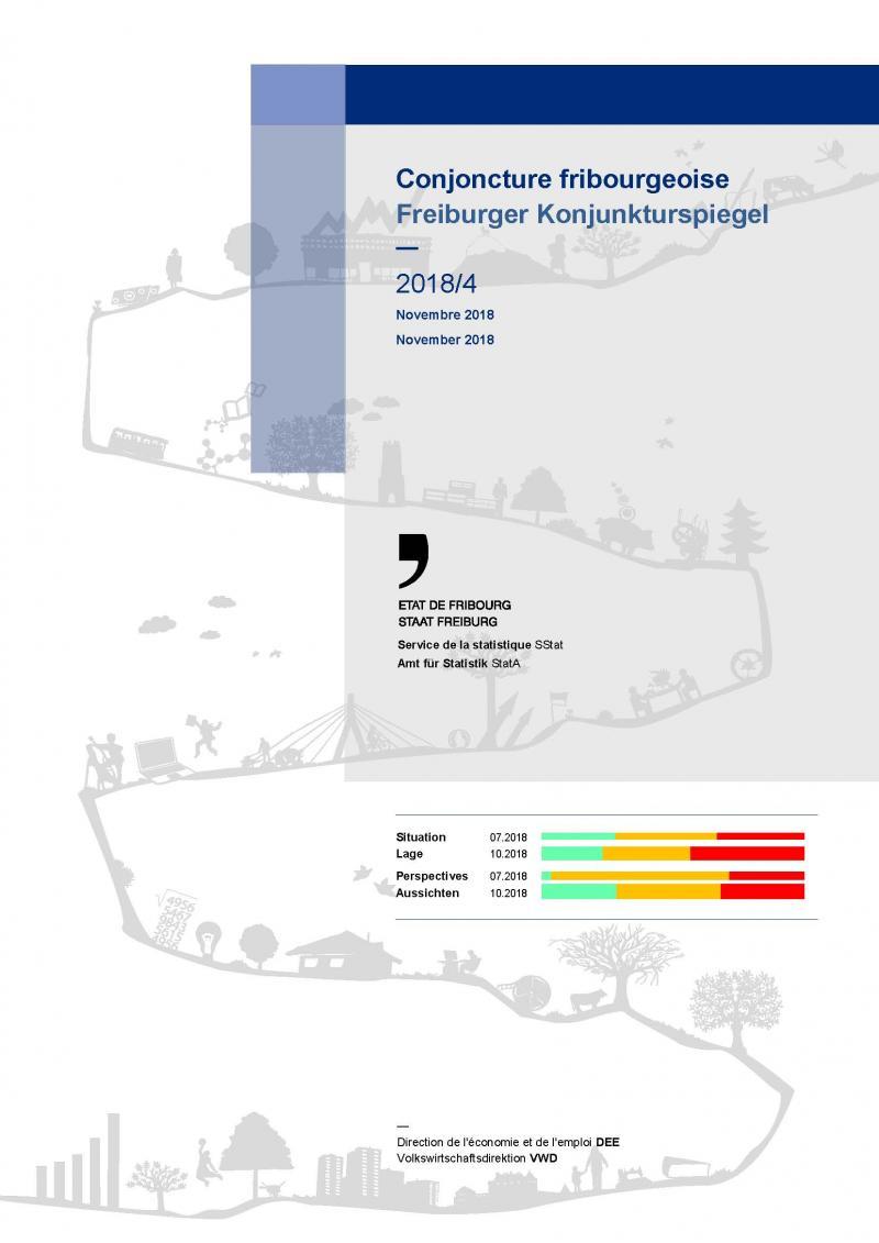 Couverture de Conjoncture fribourgeoise