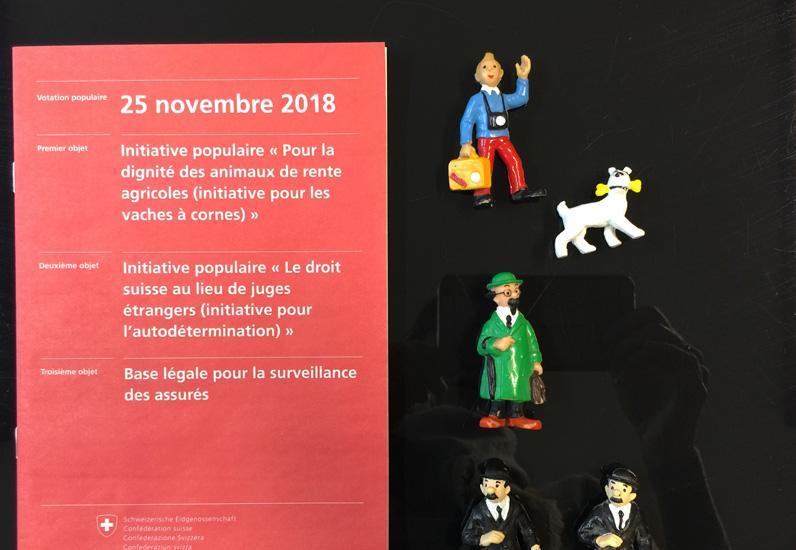Relire les aventures de Tintin et #Hopjevote