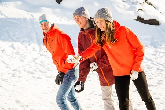 Ecole bouge - boules de neige
