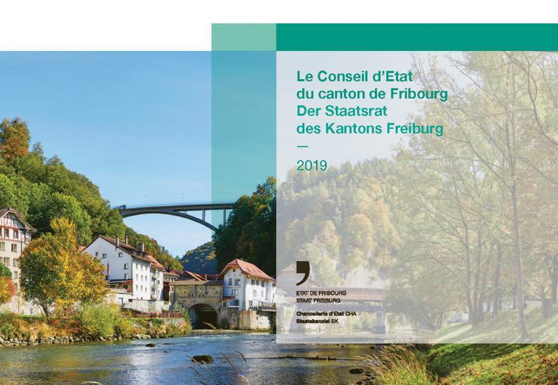 Page de couverture de la brochure de présentation du Conseil d'Etat 2019