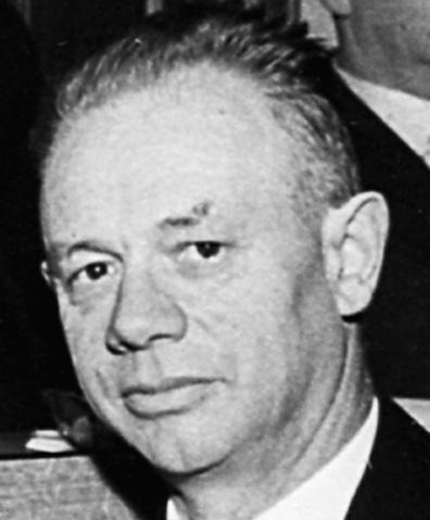 Alphonse Roggo, ancien Conseiller d'Etat/alt Staatsrat, (1898-1980)