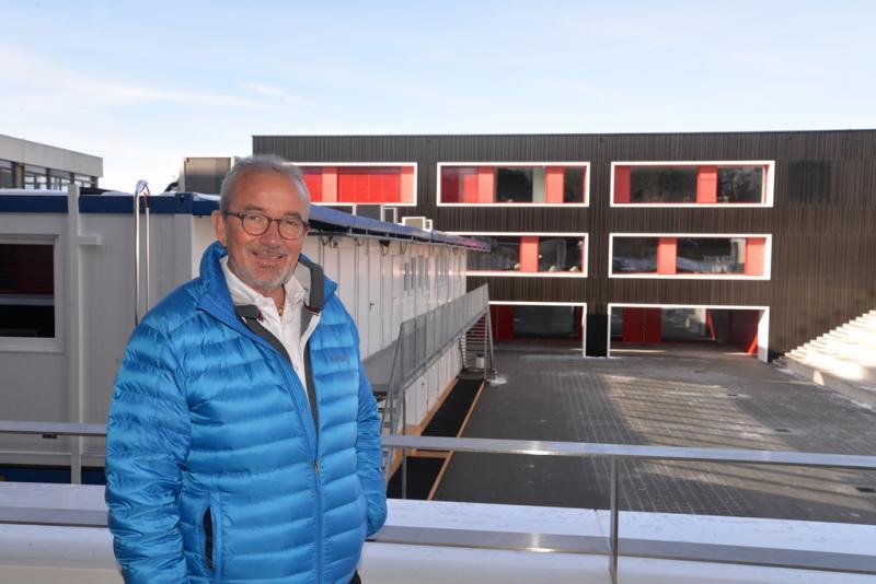 Phoito du directeur du CO de la Veveyse, Jean-Daniel Nanzer