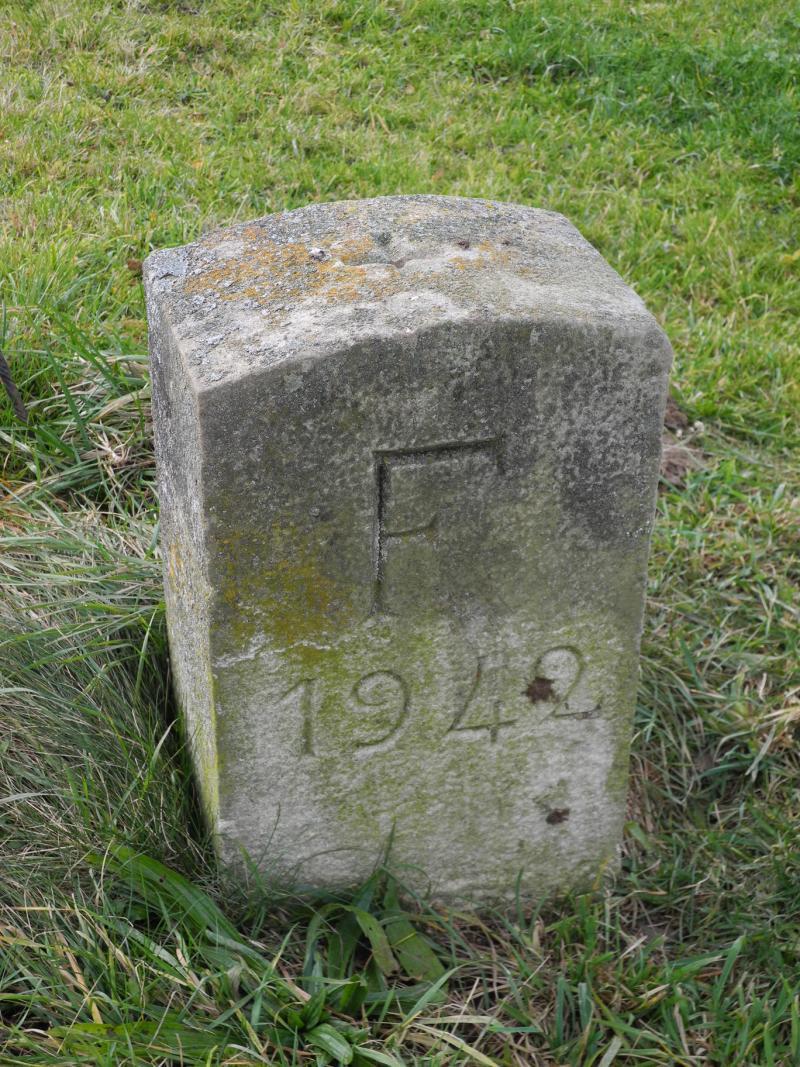 Historische Hoheitsgrenzsteine / St-Martin, Oron