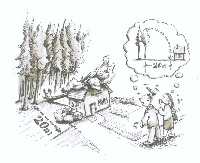 Constructions en forêt et à proximité de forêt