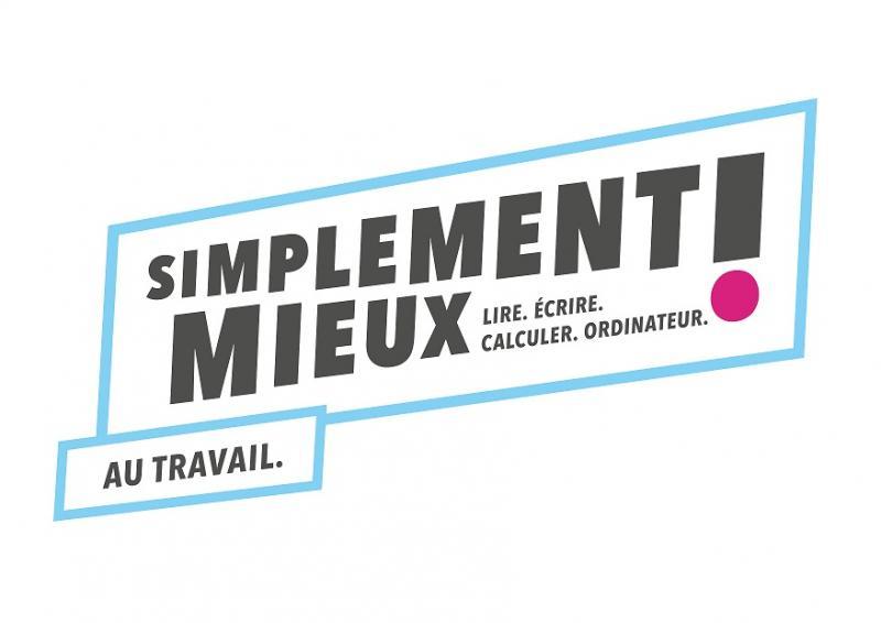 """Logo campagne """"Simplement mieux...au travail"""""""