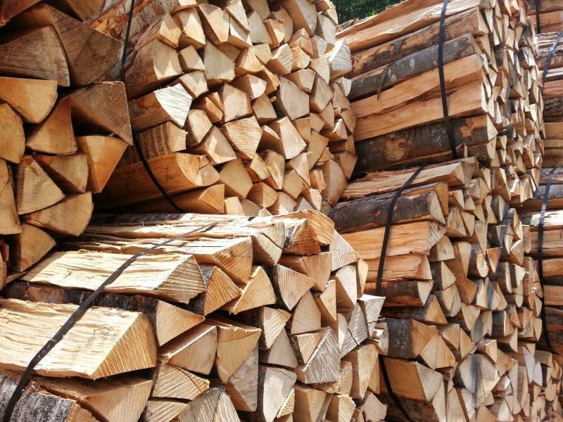 Une pile de bois