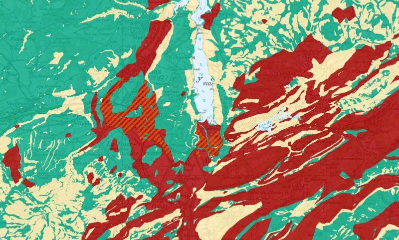 Online-Karten - Erdwärmesonden
