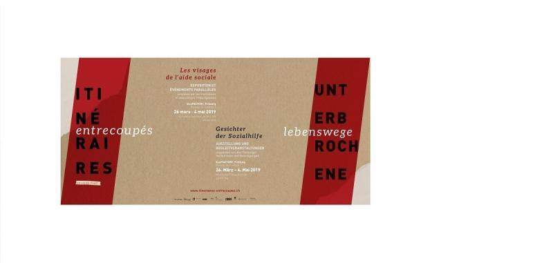 Unterbrochene Lebenswege - Ausstellung von Ghislaine Heger