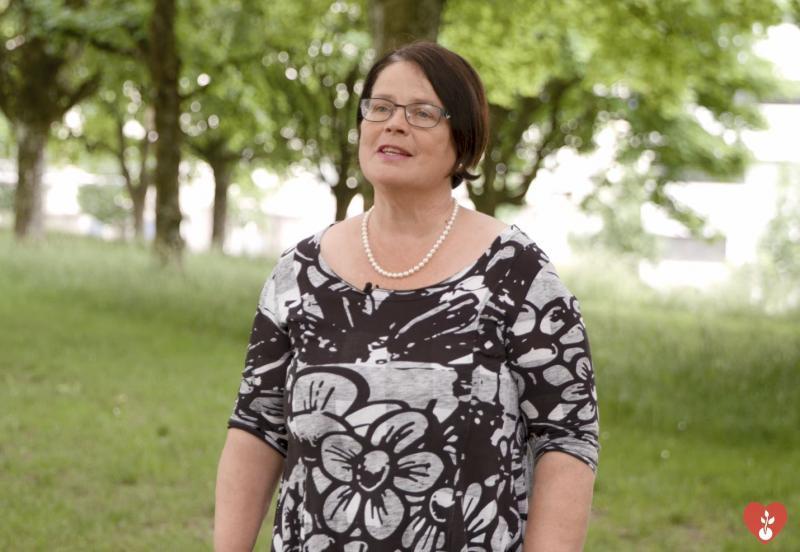 Anne-Claude Demierre s'engage pour le don d'organes