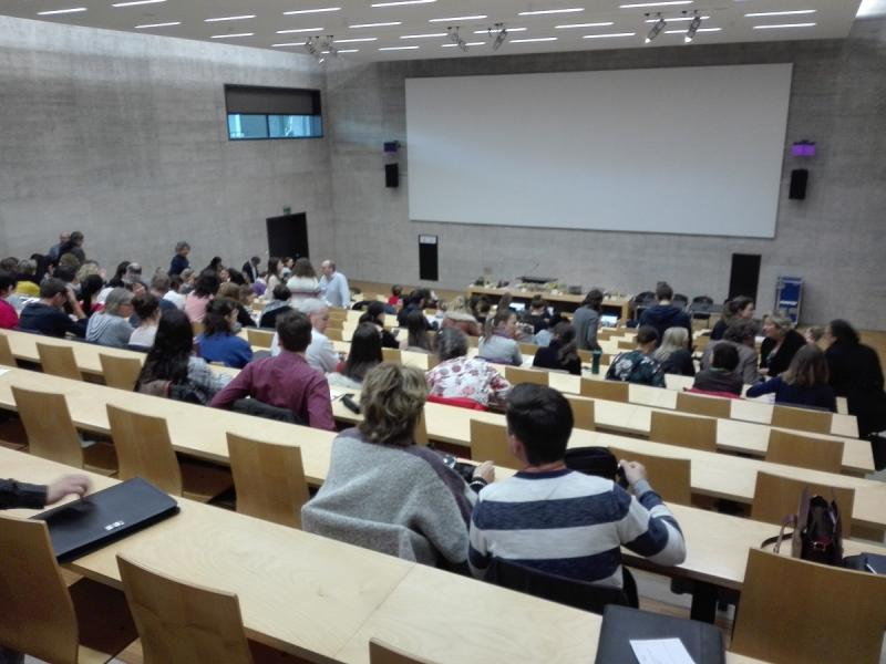 Veranstaltung «Alles zum Thema Unterhaltsbeiträge», von der GSD organisiert für die Akteurinnen und Akteure des kantonalen Sozialhilfesystems, Freitag 29. März 2019