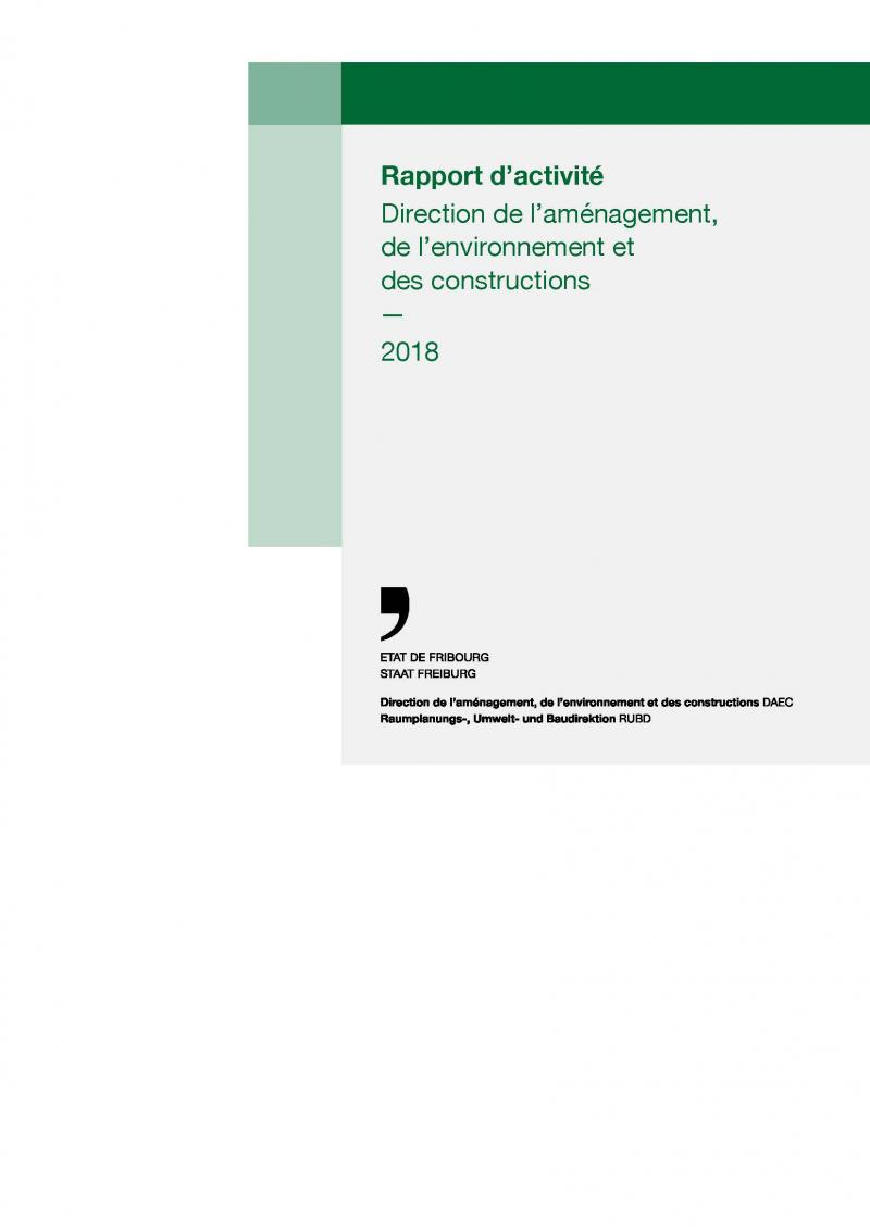 Rapport d'activités DAEC 2018