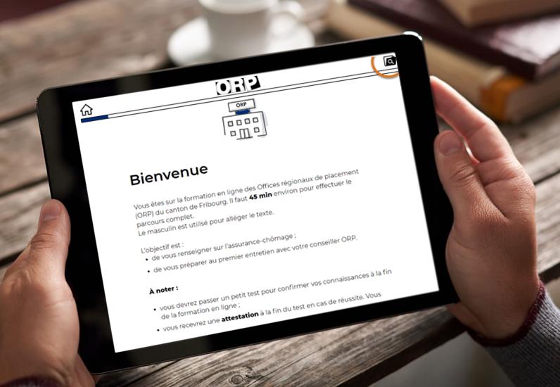 Plateforme web pour les demandeurs d'emploi