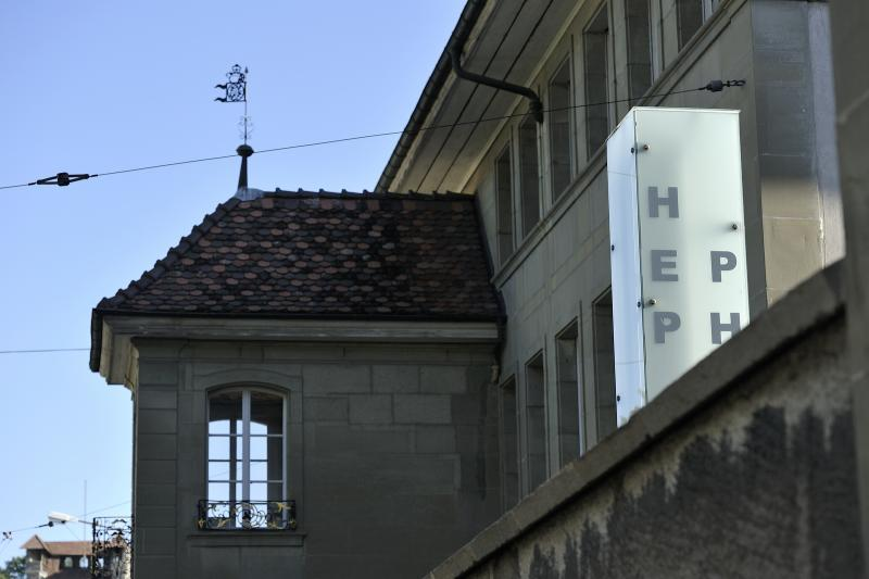 photo de la façade de la HEP I PH FR