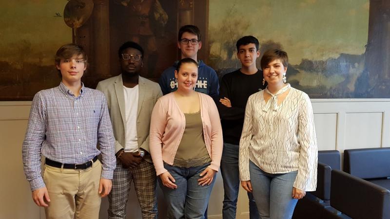Bureau du Conseil des jeunes mai 2019