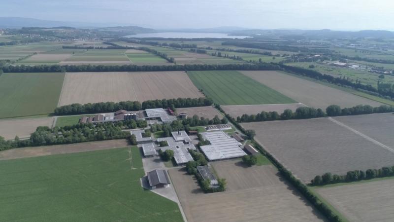Vue aérienne St-Aubin