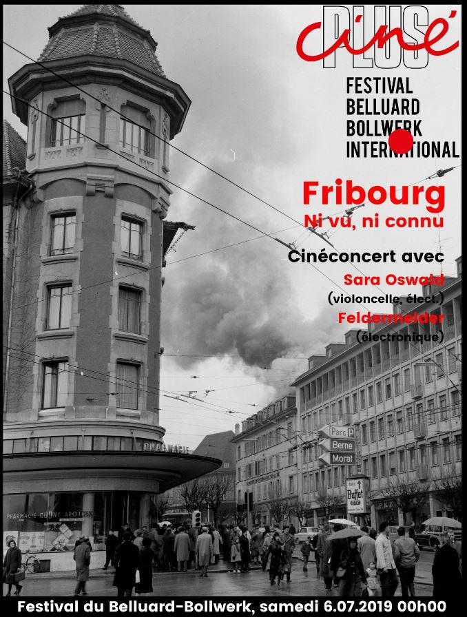 Cinéconcert Fribourg ni vu, ni connu