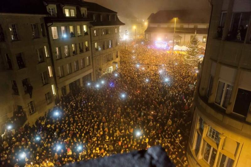 Fribourg, Fête de la Saint-Nicolas