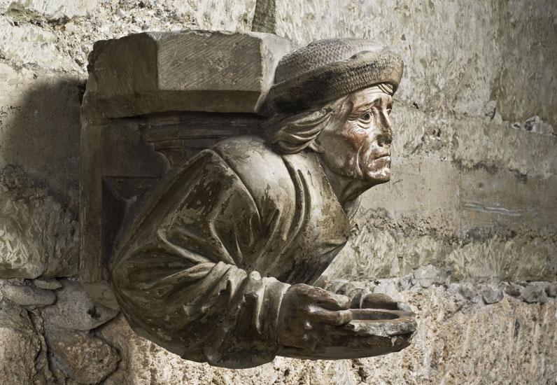 Atelier Martin Gramp, cul-de-lampe, 1510