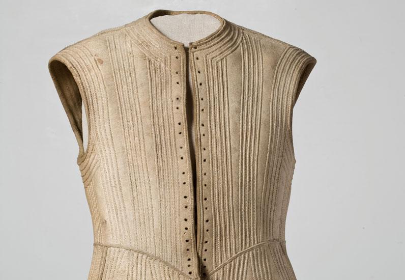 Gilet en cuir, XVII e siècle
