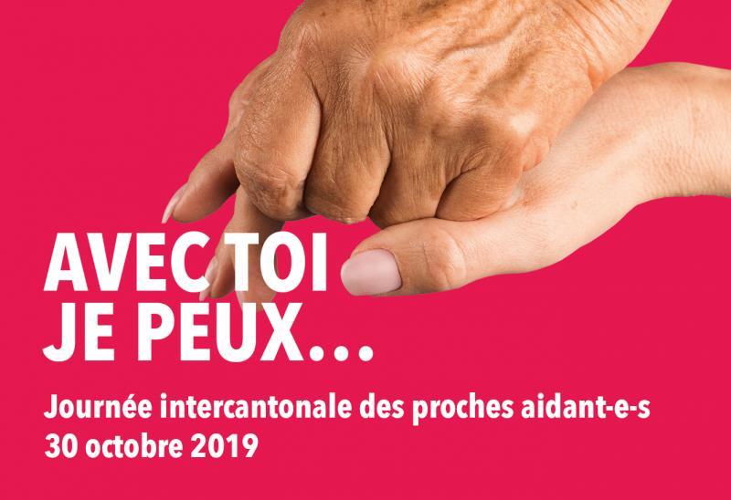 Journée intercantonale des proches aidant-e-s du 30 octobre 2019