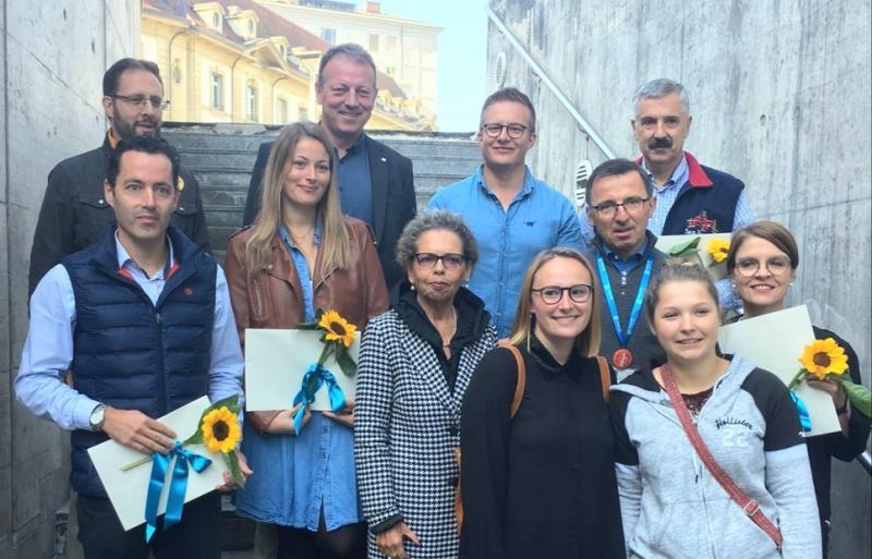 Die Gewinner des Preis zum Tag der Zweisprachigkeit 2019