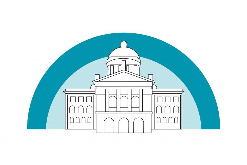 Illustration du Palais fédéral