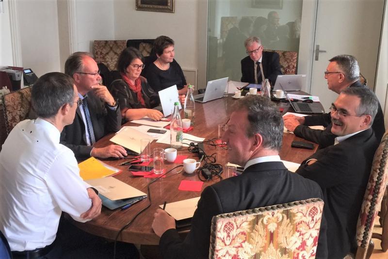 Staatsratssitzung in Vivisbachbezirk