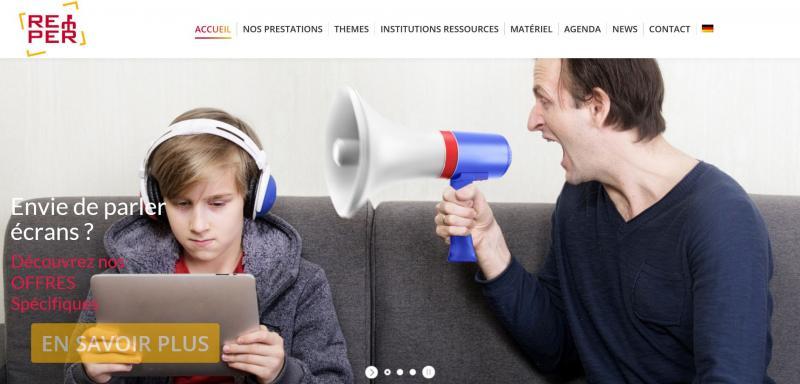 www.prevention-ecrans.ch: eine Präventions-Website im Zusammenhang mit digitale Medien
