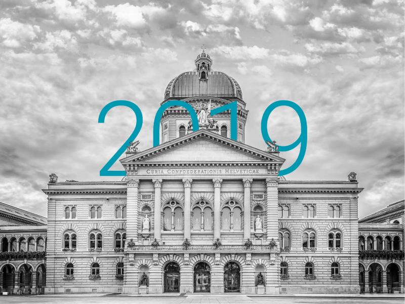 Bundeshaus in 2019