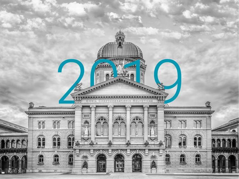 Bundeshaus in 2019