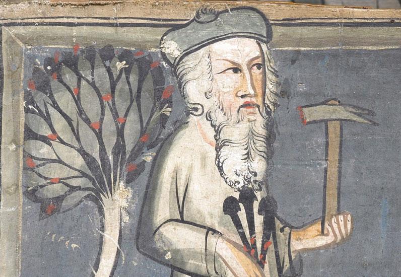 Siècle oublié _ Détail St Sépulcre de la Maigrauge