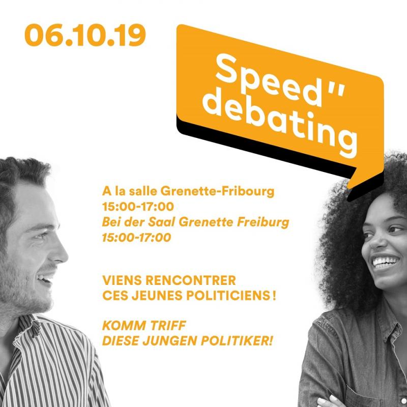 Speed debating 6 octobre 2019