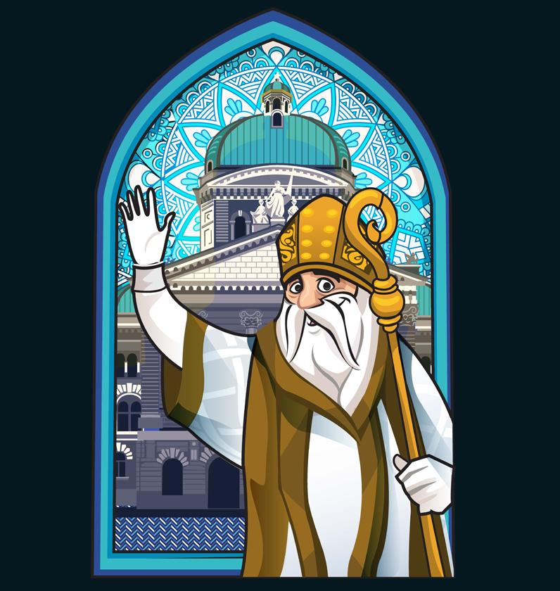 St. Nikolaus im Bundeshaus