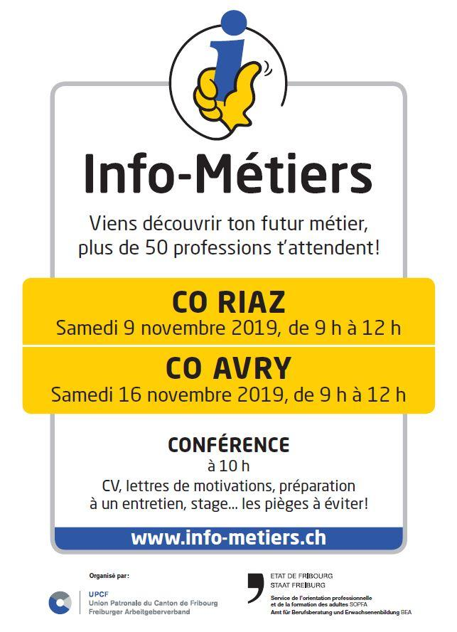 Flyer Info-métiers